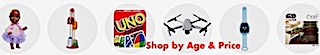 Toys and Games - Shop by Age and Price